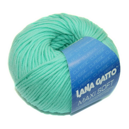 Lana Gatto Maxi Soft (7282) 100% меринос экстрафайн 50 г/90 м
